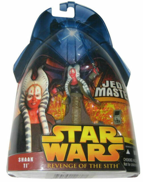 Hasbro Star Wars Revenge Of The Sith Shaak Ti Jedi Master Action Figure For Sale Online Ebay