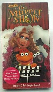 Best-of-the-Muppet-Show-VHS-Alice-Cooper-Vincent-Price-Marty-Feldman-2000-RARE