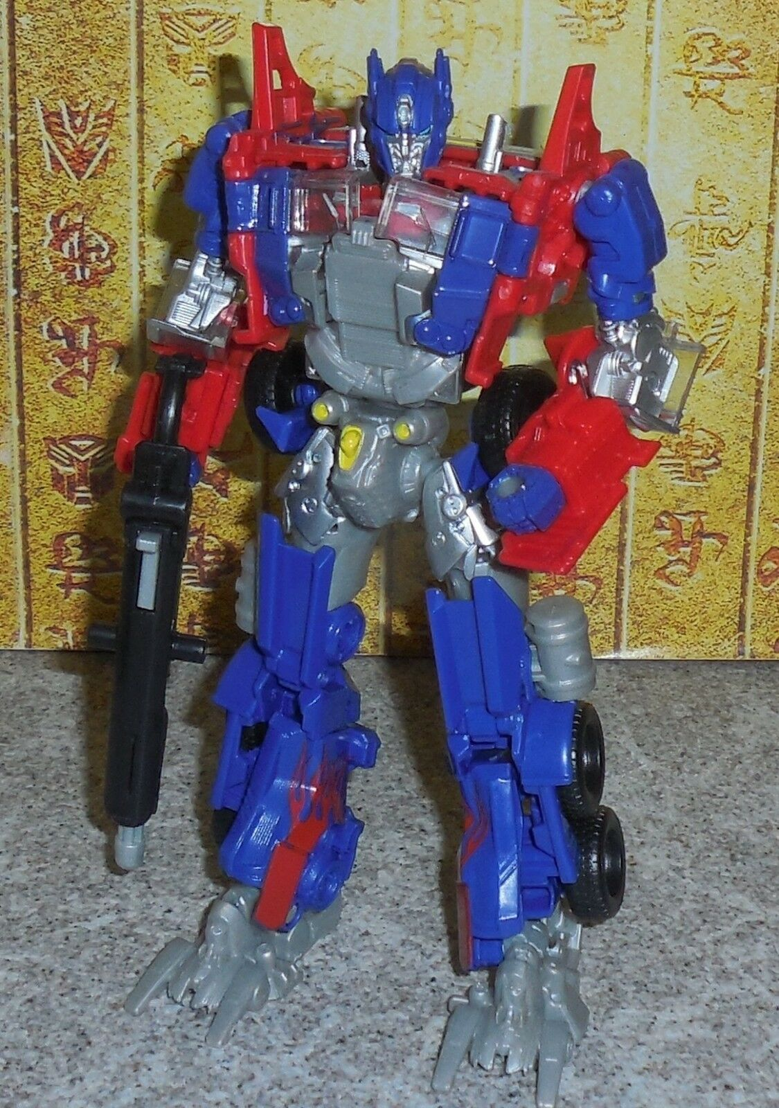 Transformers Aoe Evolution Optimus Prime Prime Prime Voyager Età di Estinzione f3aeb4