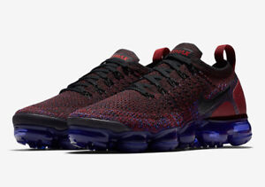 6113faeac1dfe Nike MEN S Air Vapormax Flyknit 2 Team Red Game Royal SIZE 11 BRAND ...