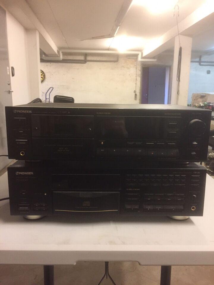 Stereoanlæg , Pioneer, SX-777 m.fl.
