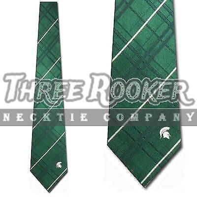 Spartans Tie Mens Michigan State Spartans Neckties Licensed Neck Ties NWT