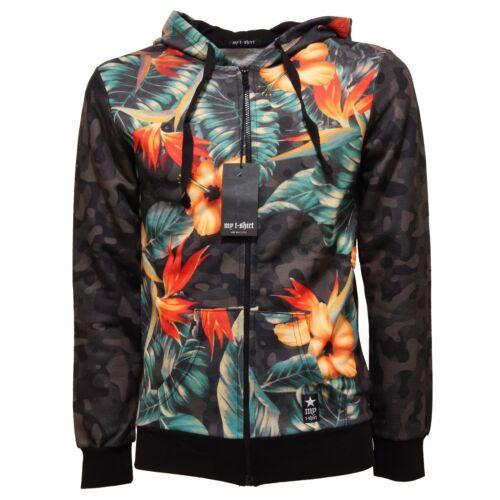 4701Q felpa fantasia garzata MY T-SHIRT felpe uomo sweatshirt men