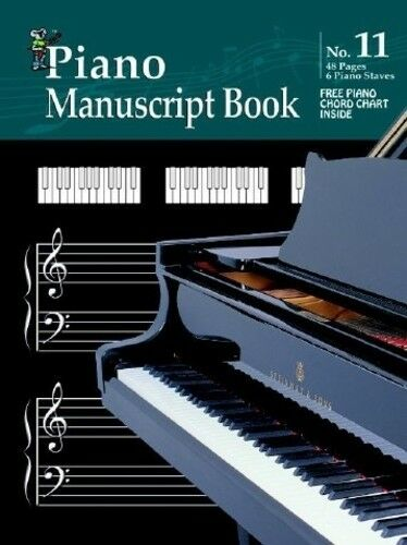 Koala Manuscript No 11 Piano Manuscript Paper Book