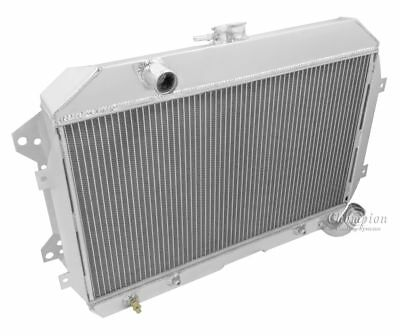 "1970,1971,1972-73 Datsun 240Z Radiator /& Dual 10/"" Fans Aluminum Champion 2 Row"