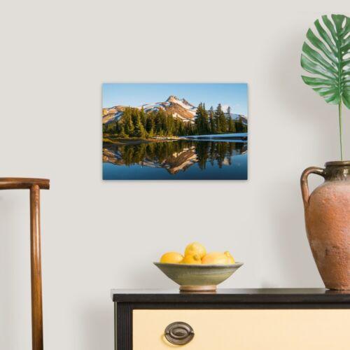 Mount Jefferson Oregon Canvas Wall Art Print Mountain Home Decor