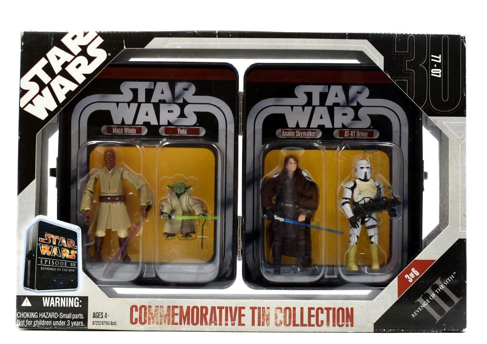 Star Wars La Venganza De Los Sith-Colección De Lata Conmemorativa Figura De Acción