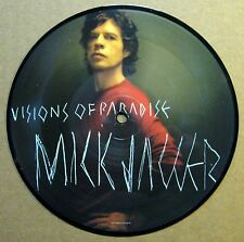 """Mick Jagger - Visions Of Paradise - UK - 2001 - 7"""" Picture Disc - New"""