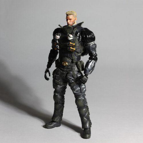 Deus EX Human Revolution Play Arts Kai Lawrence Barrett Figure NEW from Japan