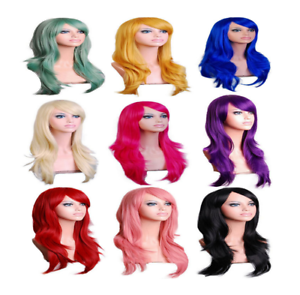 70cm-Long-Curly-Fashion-Cosplay-Costume-Party-Hair-Anime-Wigs-Full-Hair-Wavy-Wig