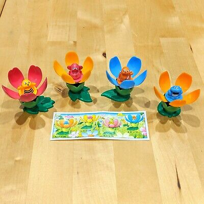 Kinder Egg Surprise Toy 2 Sets of Birds and Animals Papers 1996 Ferrero K97