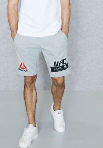 Men S Reebok Ufc Ultimate Fan Gear Shorts 2xl Grey New Ebay