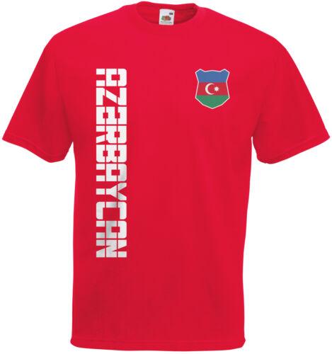 Name /& Nummer Mini WM 2018 Aserbaidschan Az?rbaycan T-Shirt Trikot incl