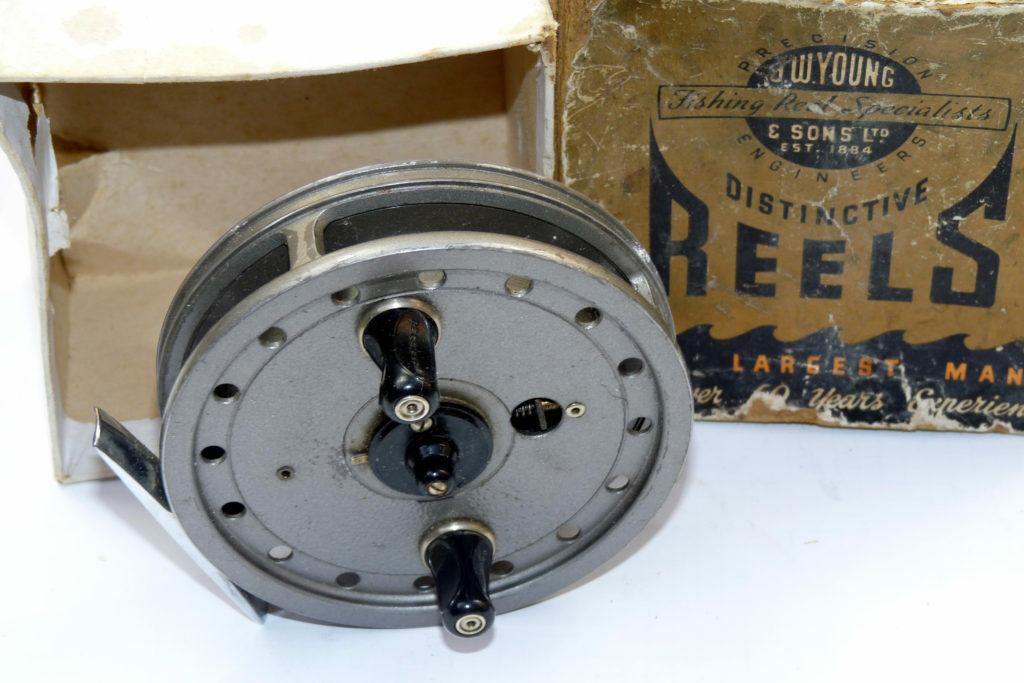 J W joven RAPIDEX Centro Pin Trojoadores Cocherete En Buenas Condiciones Con Caja De Fabricantes