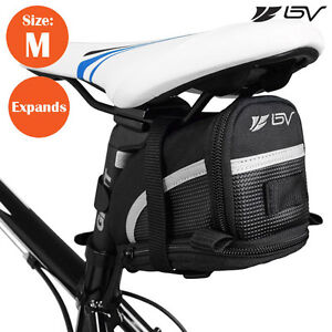 BV-Bike-Seat-Saddle-Bag-Bicycle-Rear-Storage-Medium-Tail-Pouch-NEW-BV-SB1-M