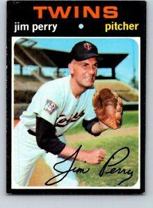 1971 TOPPS BASEBALL #500 JIM PERRY   EX