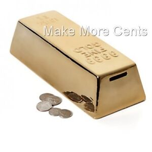 Gold-Money-Bank-Coin-Piggy-Bank-by-Kikkerland-FREE-SHIPPING