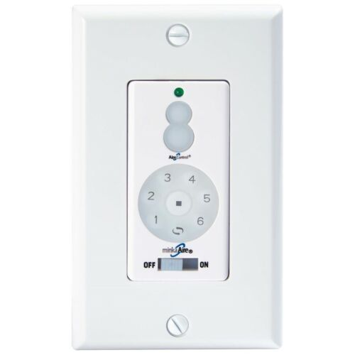 White WC400 Minka Aire Dc 400 Fan Wall Remote Control Full Function