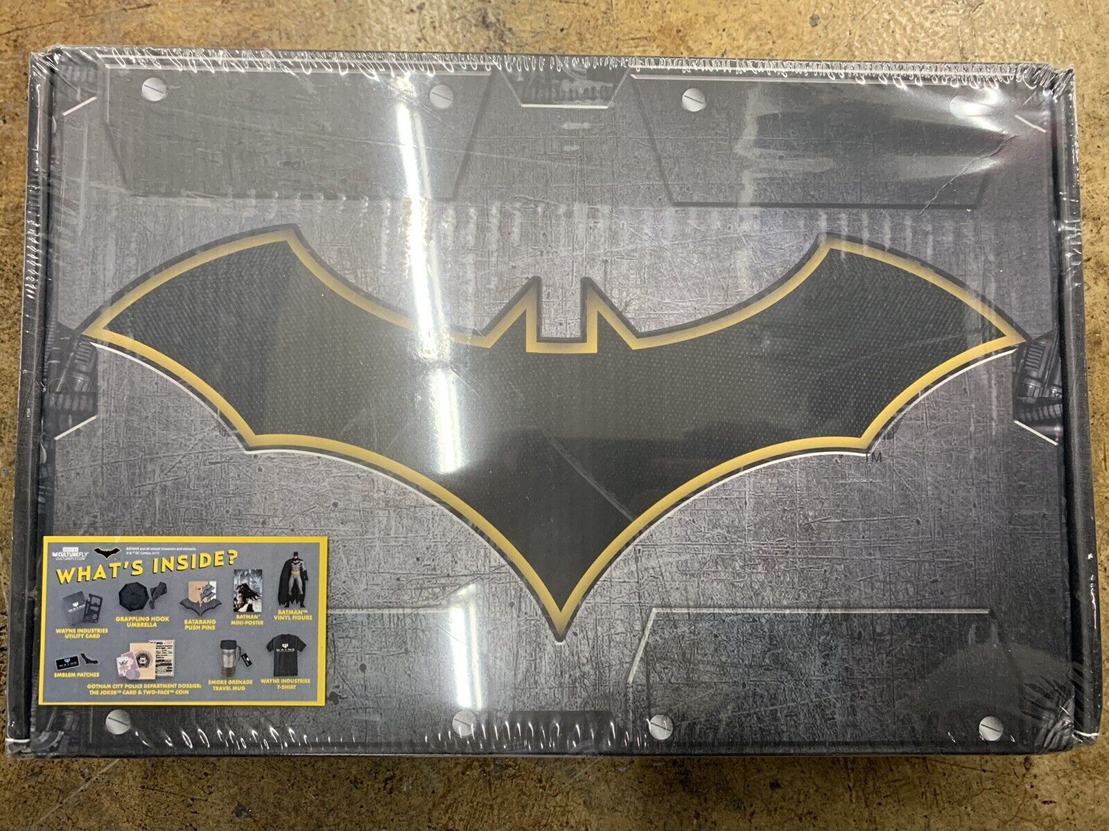 World's Finest  The Collection - Batman Built By Culturefly New Sealed XL