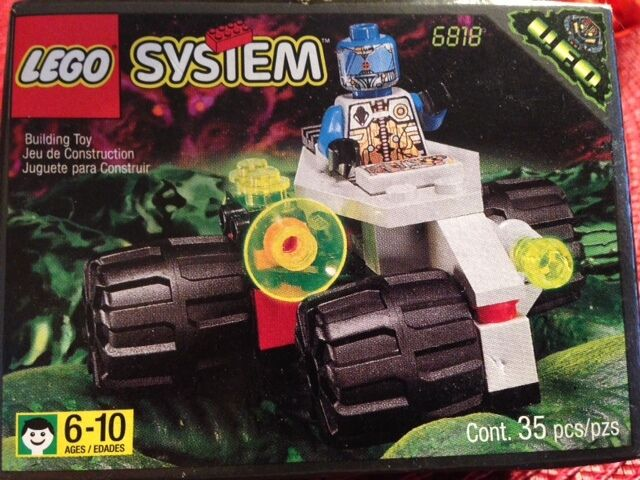 Lego Space Space Space UFO Cyborg Scout (6818) 73ddb5