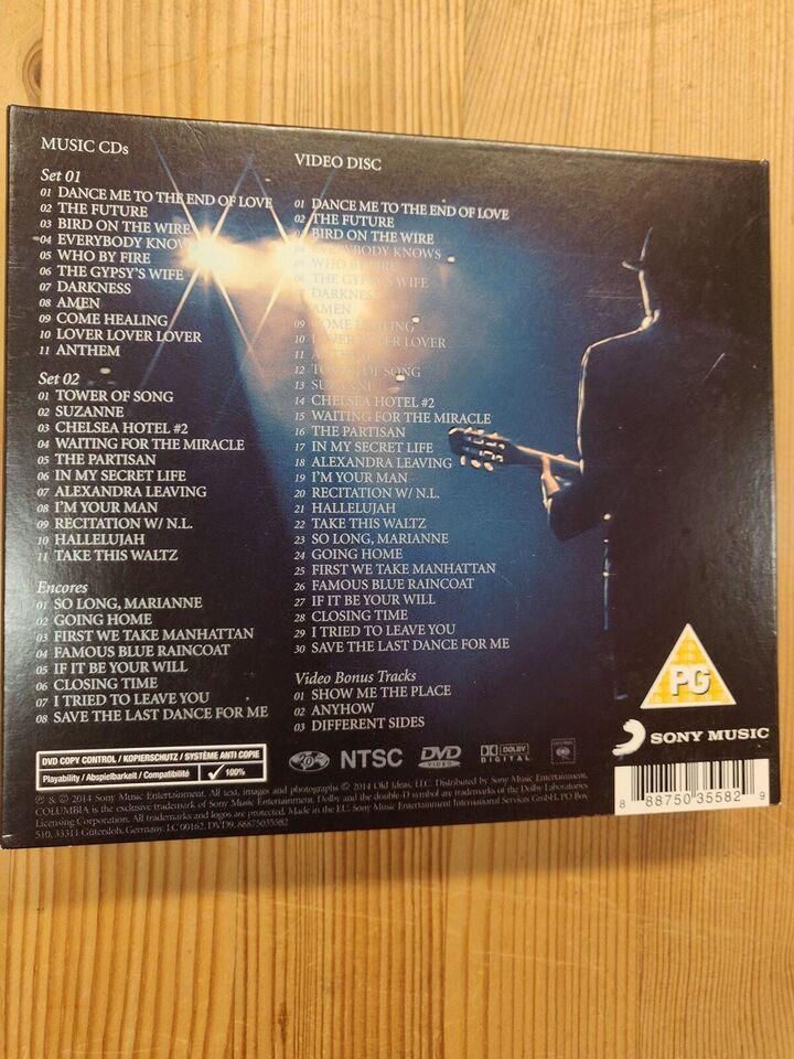 Leonard Cohen: Live in Dublin, pop