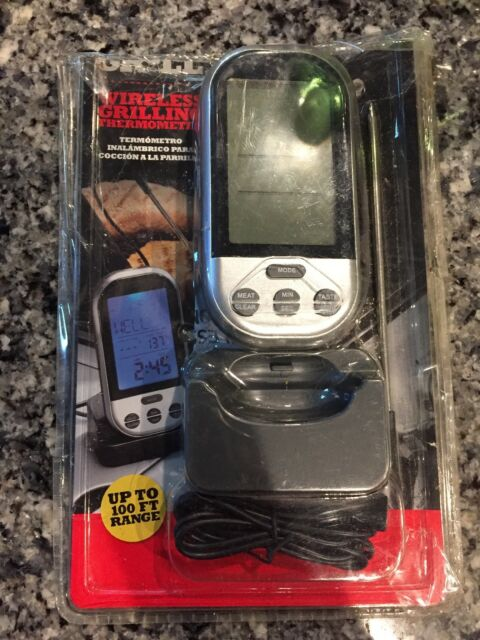BACKYARD GRILL WIRELESS GRILLING THERMOMETER - UP TO 100 ...