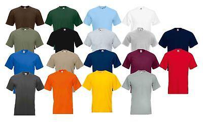 Fruit Of The Loom Super Premium T Shirt Heavy Cotton Blank Tee Shirt S-xxxl Wir Nehmen Kunden Als Unsere GöTter