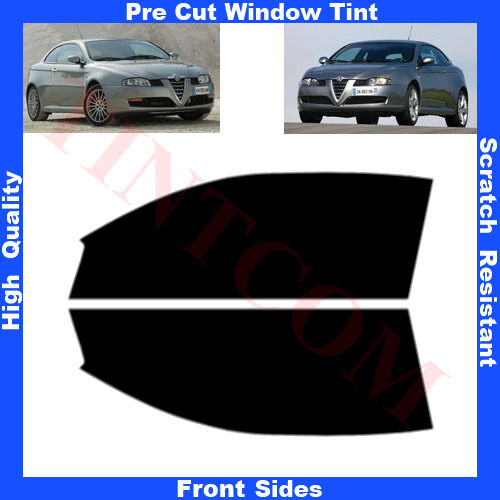 Pre Cut Window Tint Alfa Romeo GT 3 Doors Coupe 2004-2011 Front Sides Any Shade