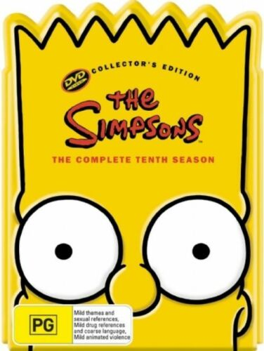 1 of 1 - The Simpsons : Season 10 (DVD, 2007, 4-Disc Set)