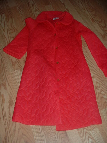 Vintage Saybury Soft Quilted  Robe small