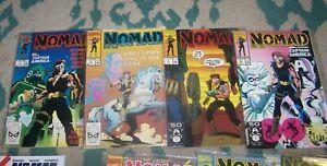 nomad # 1 2 3 4 vol 1+ 1991 marvel + bucky captain america ...
