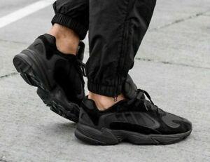 all black adidas mens