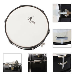 new 14 inch snare drum head with drumstick drum key strap for student band ebay. Black Bedroom Furniture Sets. Home Design Ideas