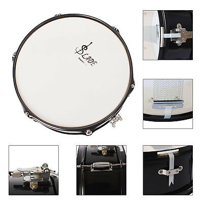 lade professional 14 snare drum head drumstick drum key strap for student band ebay. Black Bedroom Furniture Sets. Home Design Ideas