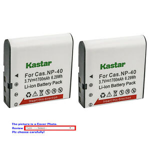 Kastar-Replacement-Battery-for-Casio-NP-40-CNP40-amp-Casio-Exilim-EX-FC100-Camera