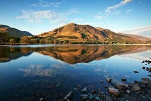 A1-Buttermere-Lake-District-Poster-Art-Print-60-x-90cm-180gsm-UK-Gift-8929