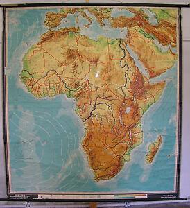 Indonesien Karte Physisch.Schulwandkarte Wandkarte Afrika Africa Afrika Karte Physisch