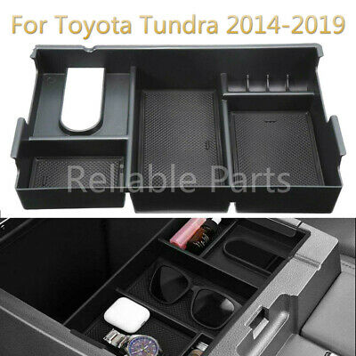 Center Console Storage Box or Coin Holder Container for Toyota Tundra 2014-2018