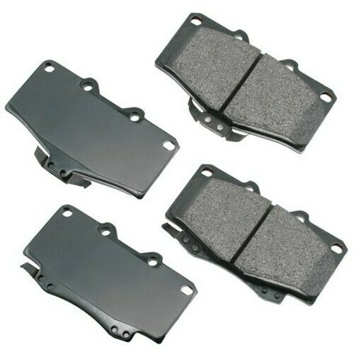 ProACT ACT1543A Akebono ProACT Ultra Premium Ceramic Disc Brake Pad Kit