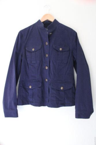 Smart Marineblauw Lrl Co 12 Jeans Soft Lauren 180 Blazer Nwt Cotton Ralph Jacket wFRT4T1