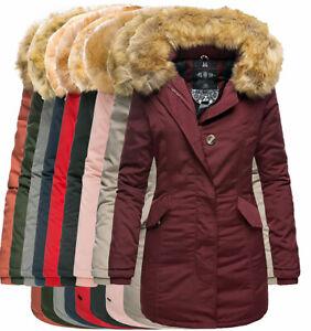 Marikoo-Karmaa-Damen-WinterJacke-Steppjacke-winter-Parka-Mantel-warm-gefuttert