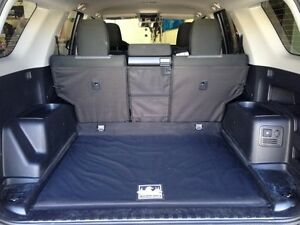 2010 2018 toyota 4runner no 3rd row no tray canvasback cargo liner mocha ebay. Black Bedroom Furniture Sets. Home Design Ideas