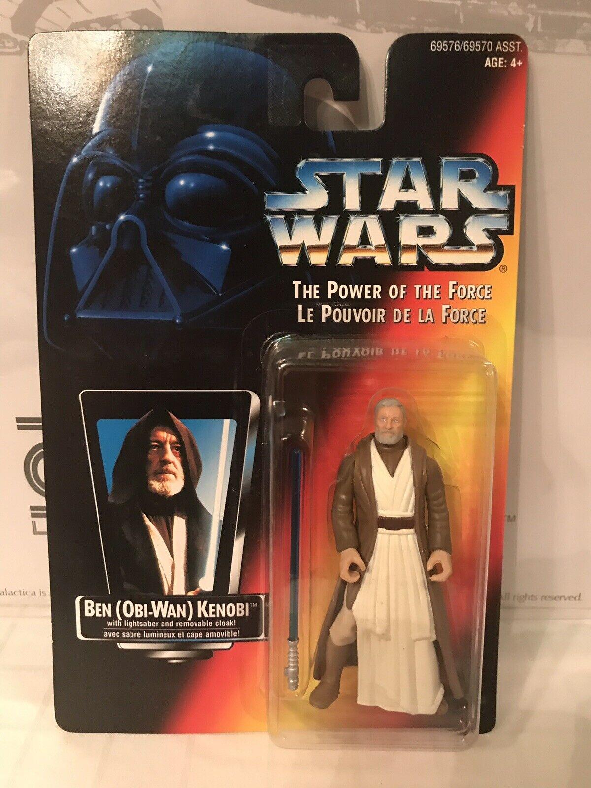 Star Wars The Power Of The Force Ben (Obi-Wan) Kenobi French Canadian