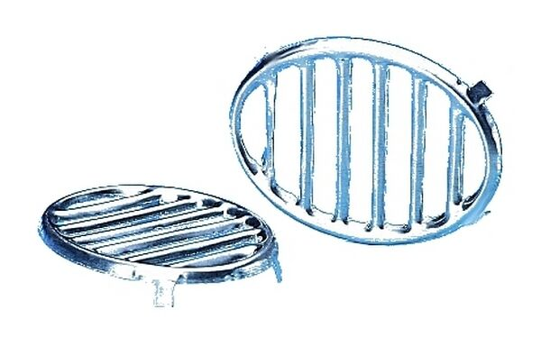 Chromed Horn Grille For VW Beetle Type 1 15 1949-1985