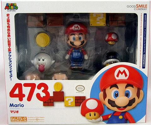 Super Mario 6 Inch Action Figure Nendoroid Series - Mario Nendoroid