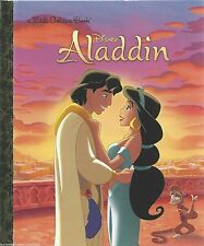 ALADDIN Little Golden Book NEW Disney PRINCESS JASMINE Alladin PRINCESSES Story