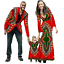 thumbnail 10 - New Fashion Matching Clothes Brand Father Mother and Son Baby Africa V11592