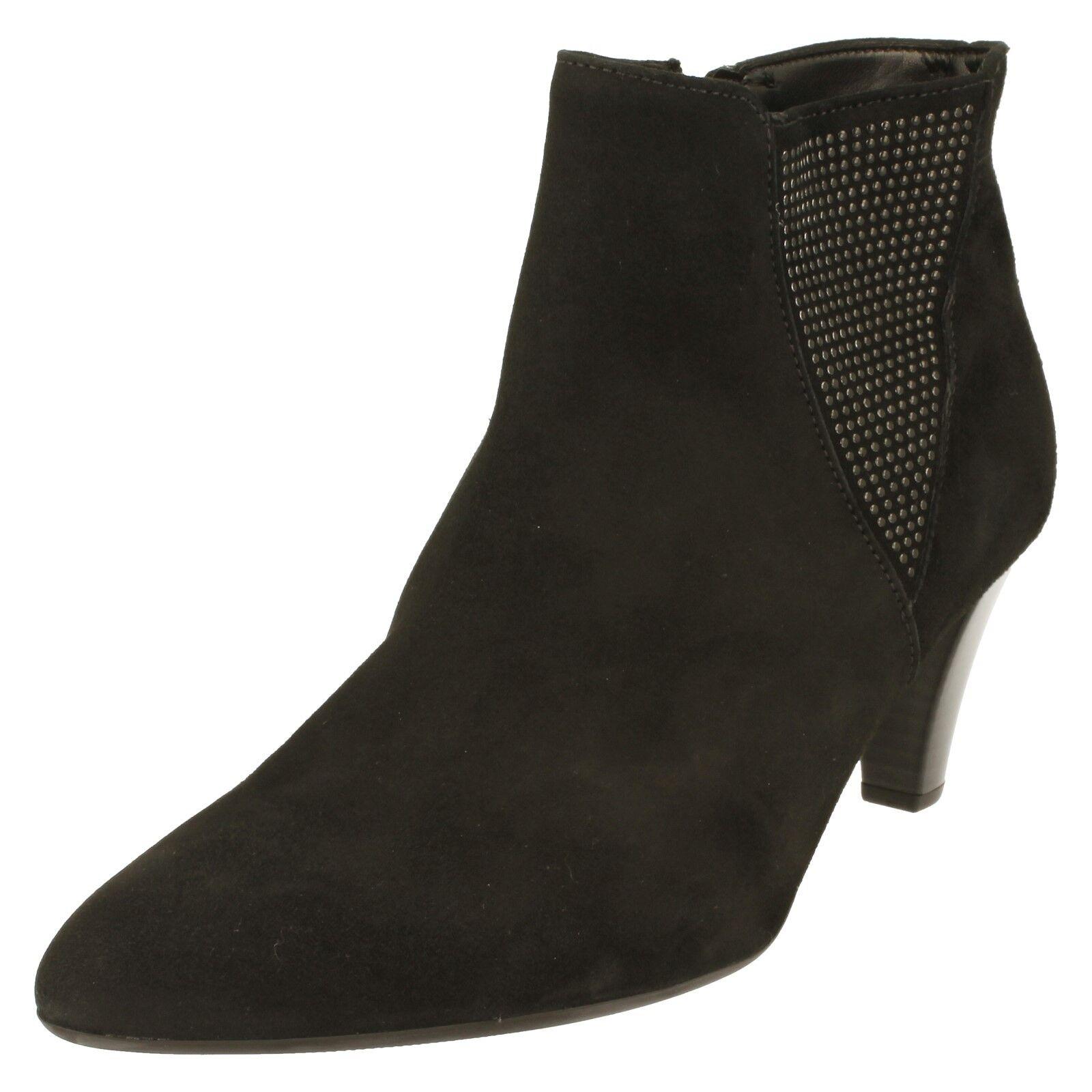 Gabor Black Ladies Ankle Boots 31.701.17 Black Gabor f12c7e