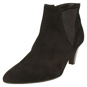 31 Ladies 701 17 Ankle Black Boots Gabor xw70qFpnzC