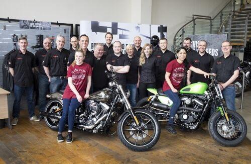 00 120 donna Davidson mano Borsa Harley in tela 97824 19vw da a £ Rrp nera OqSw6